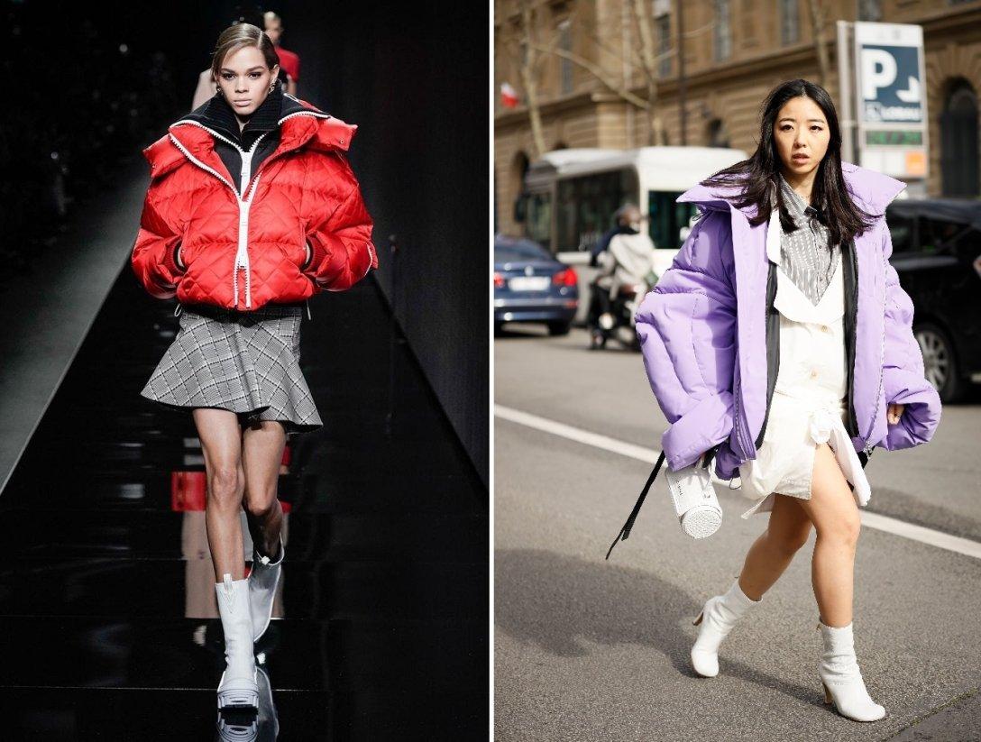 пуховик осень-зима 2021 фото, тренд сезона, верхняя одежда