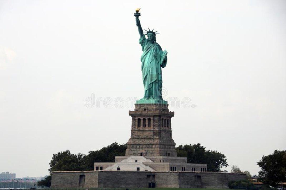 статуя свободы, остров свободы