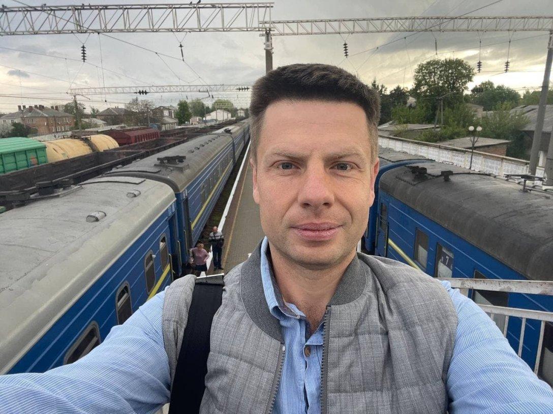 Алексей Гончаренко, Укрзалізниця, поезд Укрзалізниці, воры, ЧП с Гончаренко