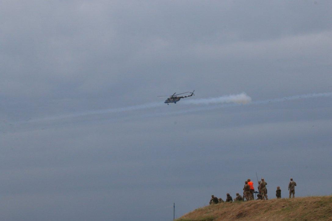 вертолеты в войсках