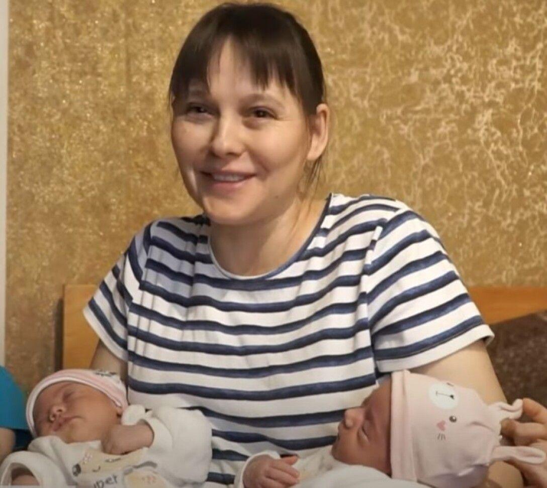 Елена Бородулина, многодетная мать, Винницкая область, 15 детей