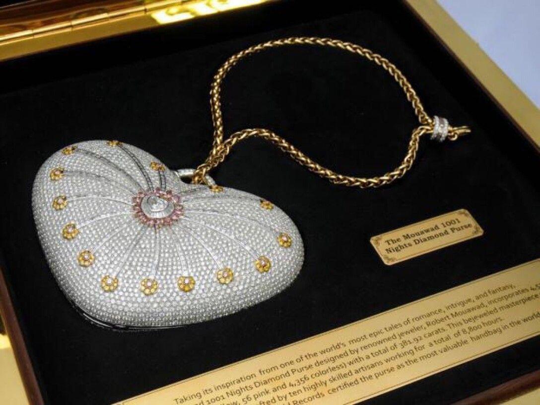 Клатч Mouawad 1001 Nights Diamond Purse