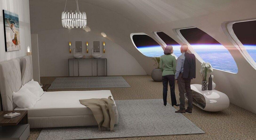 космический отель, орбита, Земля