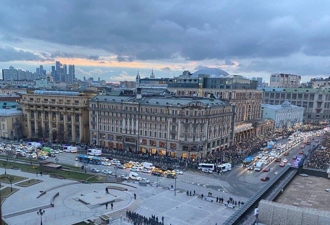 навальный, протесты, москва, россия