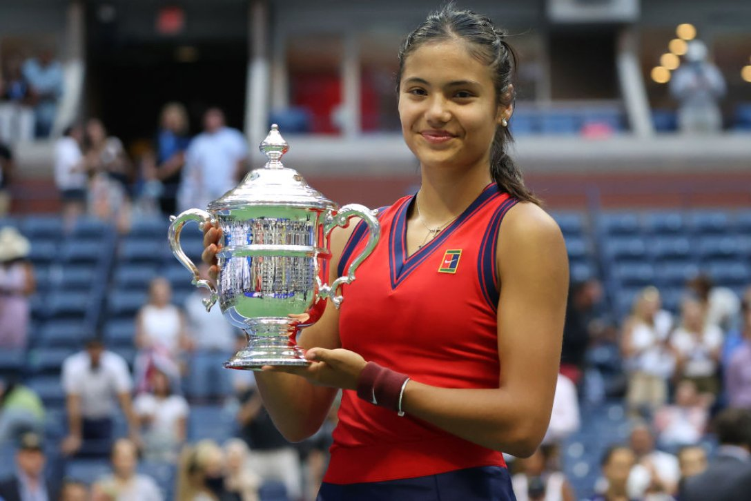 US Open 2021, финал, победитель US Open 2021, эмма радукану