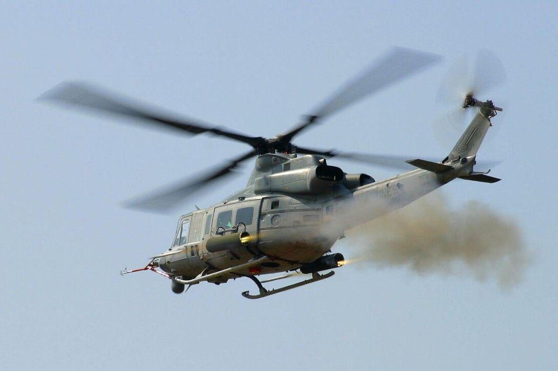 uh-1y venom, вертолет