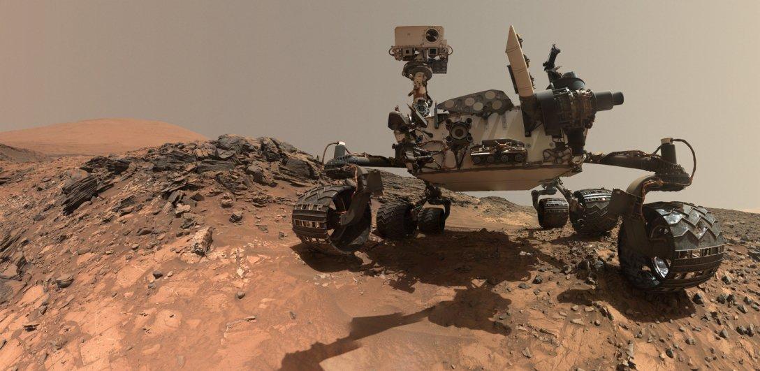 Curiosity, марсоход, поверхность Марса, фото