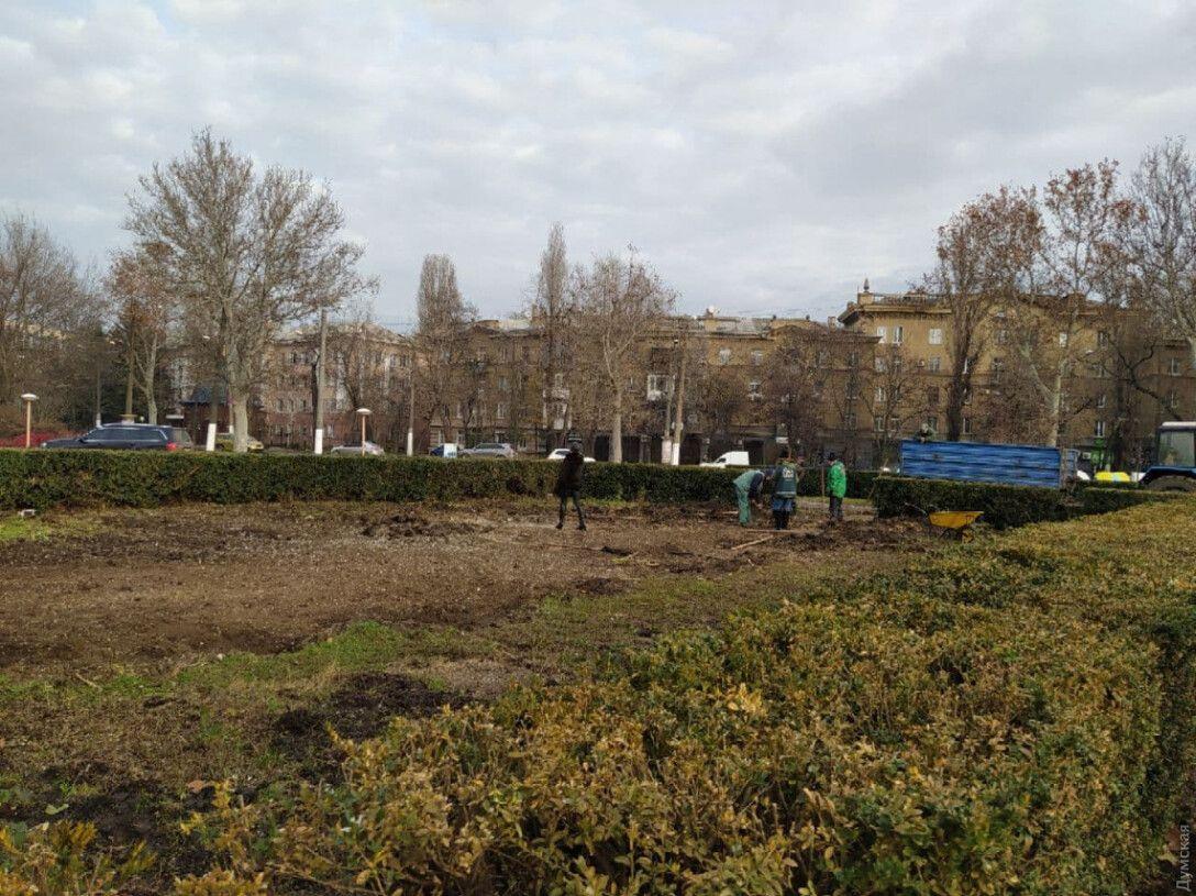 домик, Одесская ОГА, хатынка Саакашвили