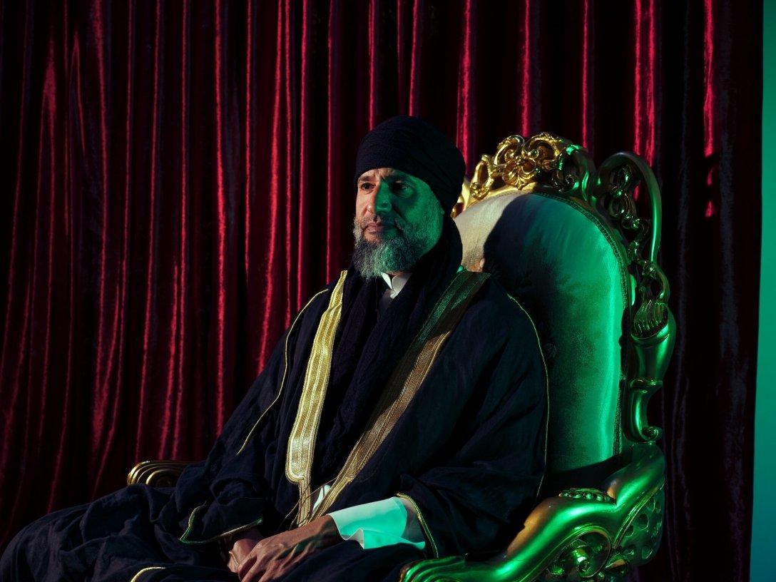 интервью сына каддафи
