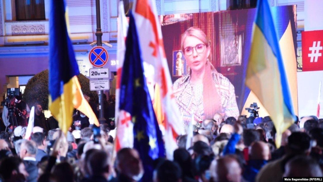 Тимошенко, Саакашвили, Тбилиси