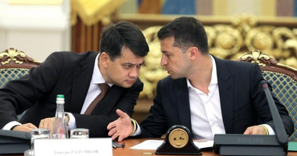 Александр Кочетков: За отставленным Аваковым пришел черед Разумкова?