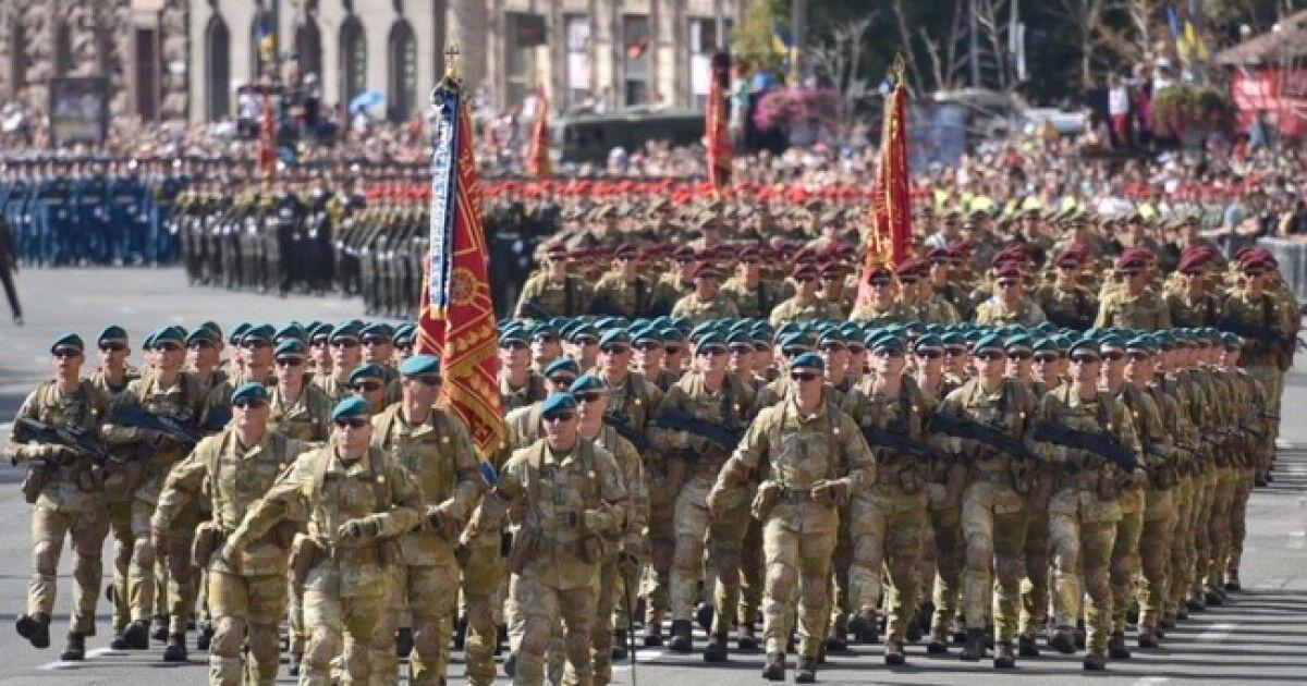 В Киеве на День Независимости в 2021 году состоится военный парад