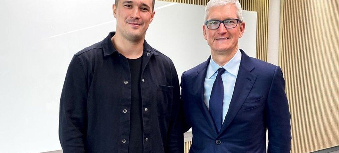 Министр цифровой трансформации Украины и глава корпорации Apple