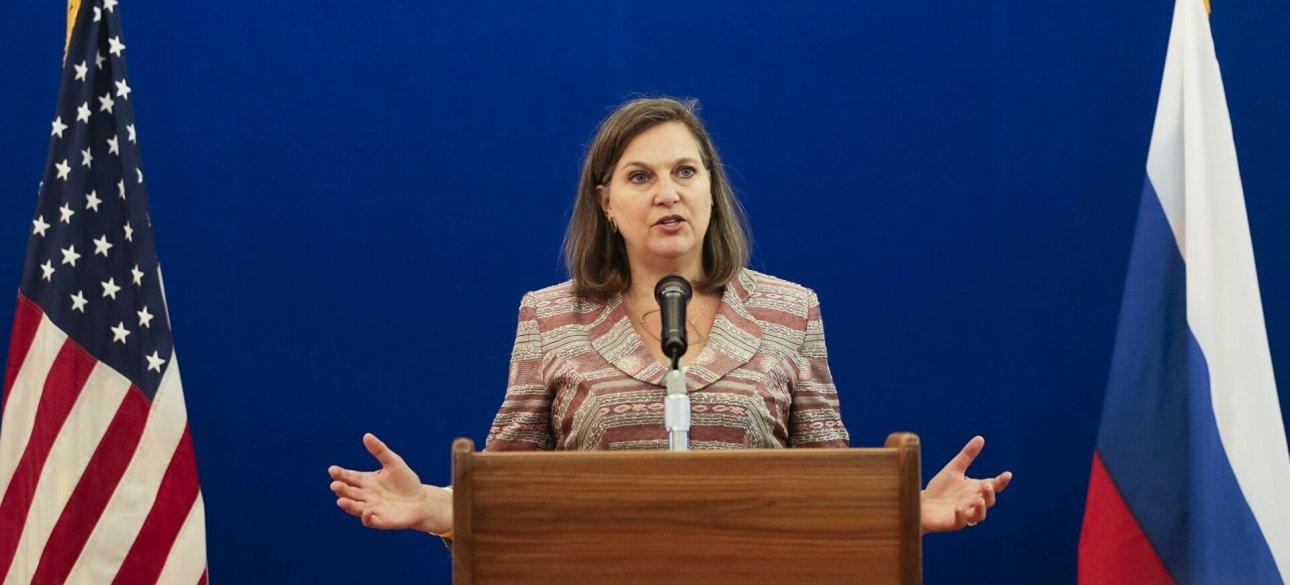 Заступник держсекретаря США Вікторія Нуланд у Москві