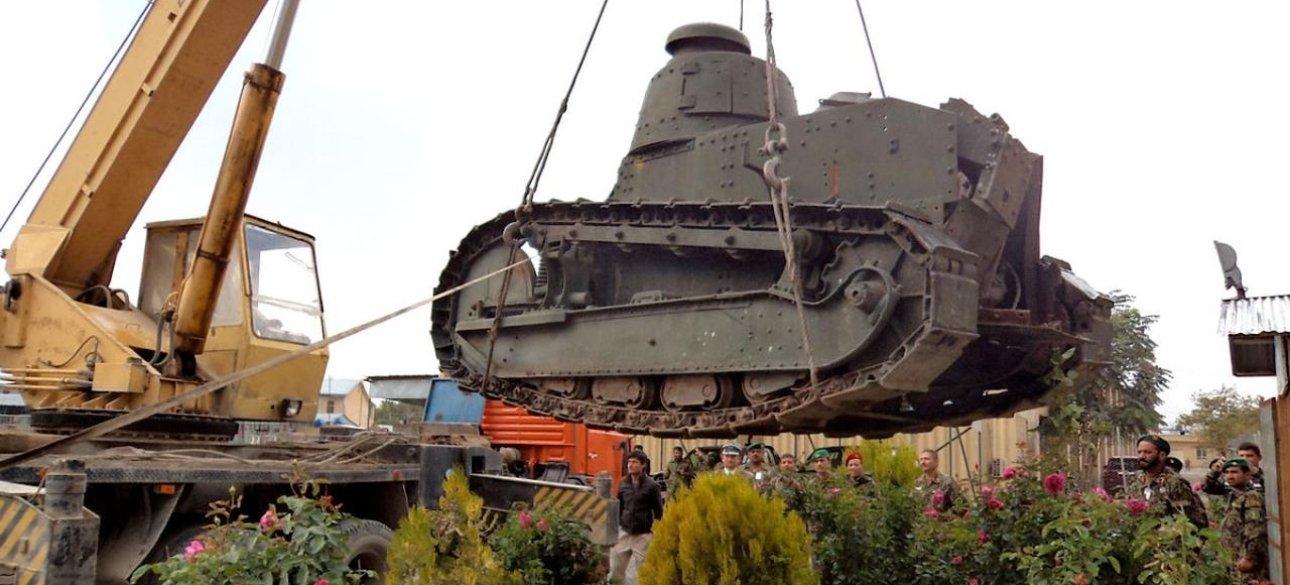 Французский танк Renault FT-17