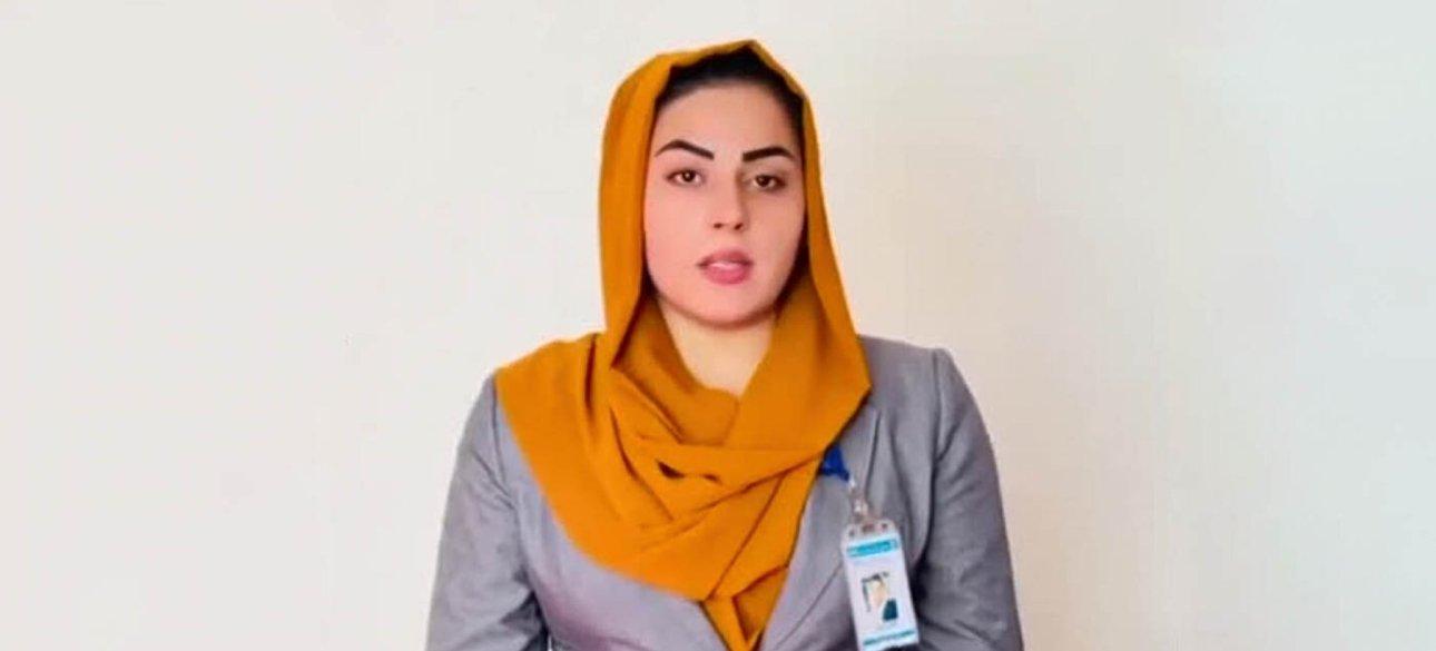 Афганська журналістка Бехешті Аргханд