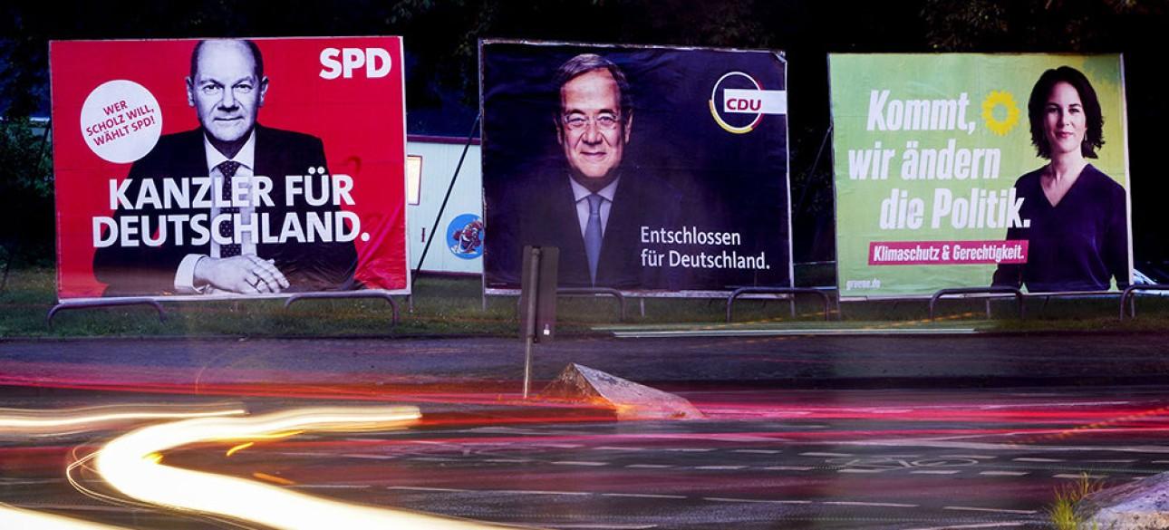 Выборы в немецкий бундестаг