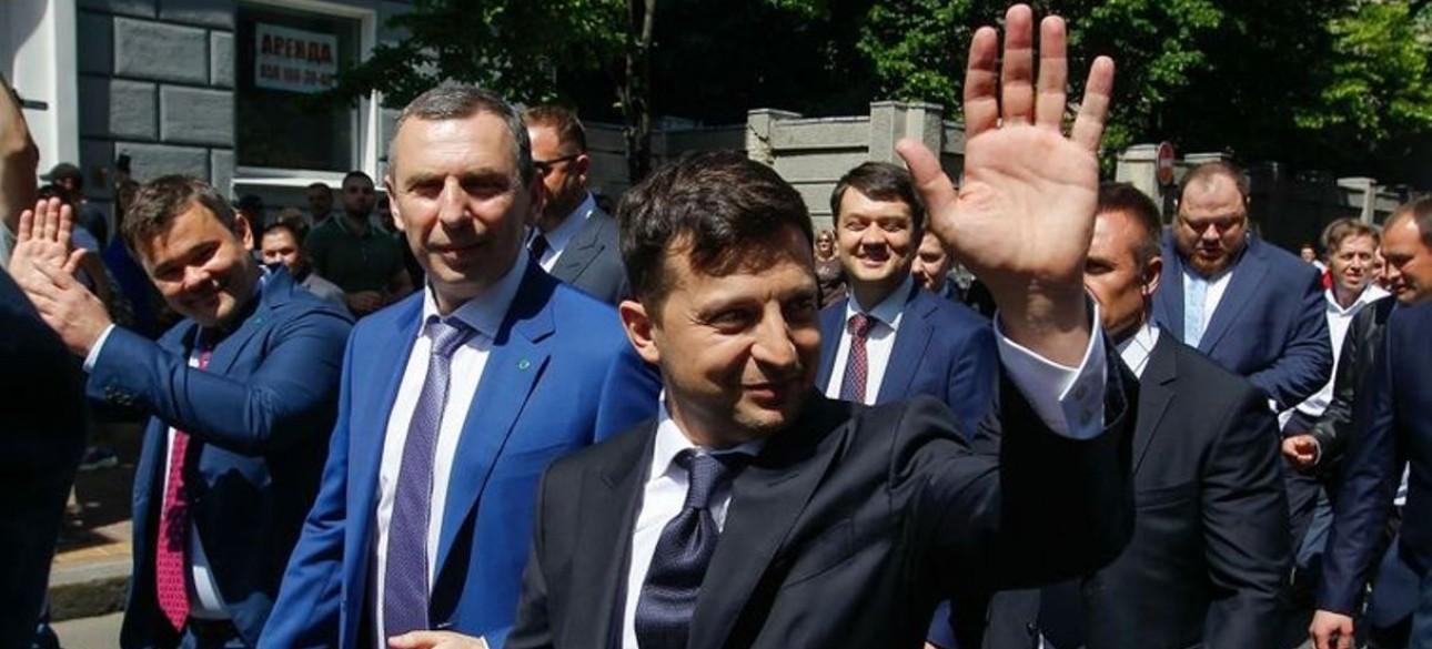 Помощник прещидента Украины Борис Шефир