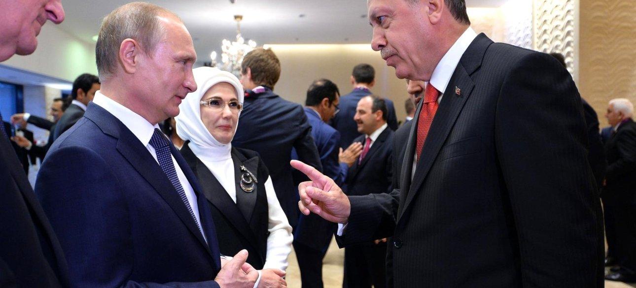 Владимир Путин и Реждеп Тайип Эрдоган / Фото: armenpress.am