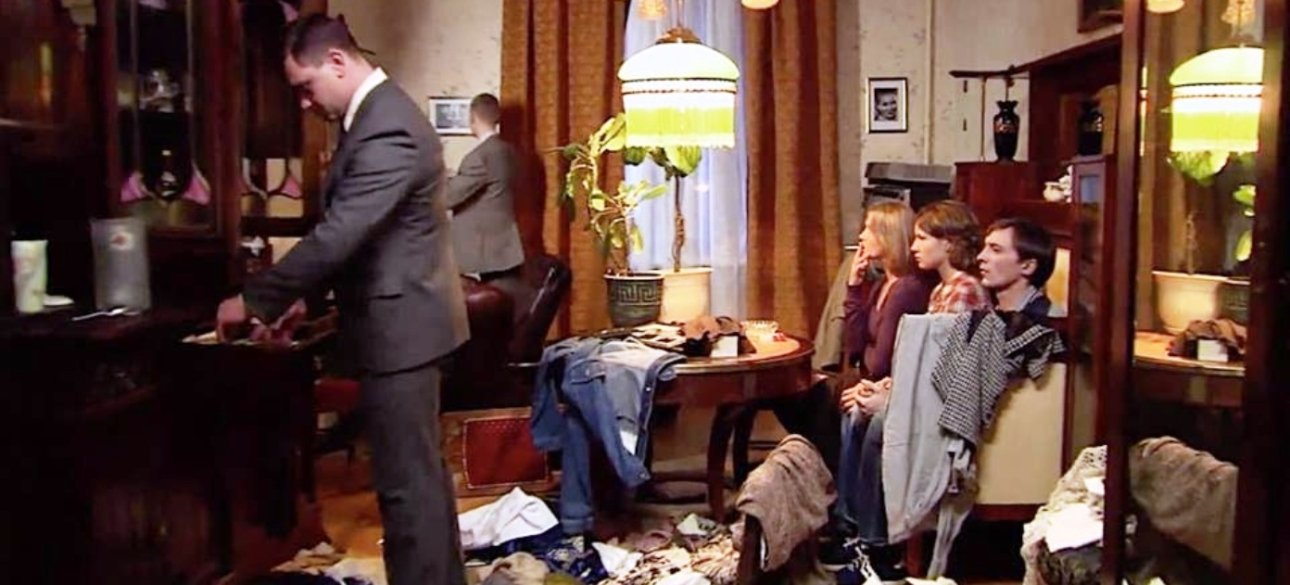 Проведение обыска в квартире