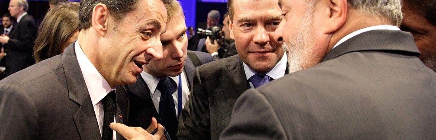 Николя Саркози и экс-президент Бразилии Луис да Силва (справа), который уже приговорен к 9,5 годам / Фото: kremlin.ru