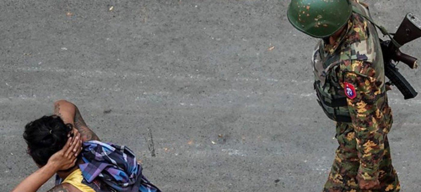 Мьянма, военный, задержание активиста, протесты в Мьянме