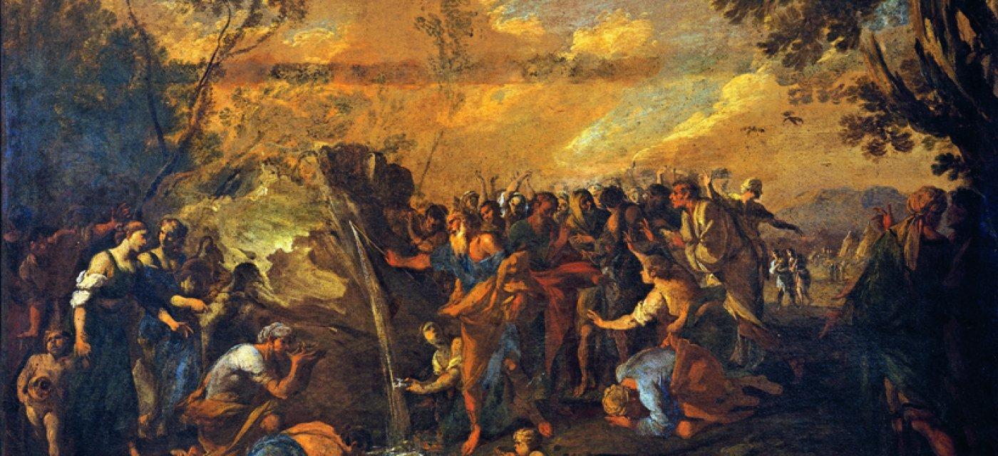 """Кодацци Вивиано  """"Моисей высекает воду из скалы"""" / Фото: Getty Images"""