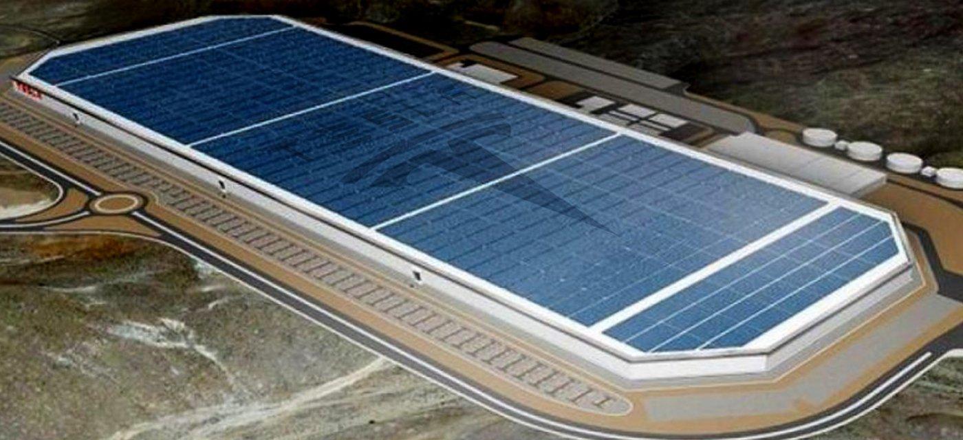 Проект Tesla Gigafactory  / Фото: technewstoday.com