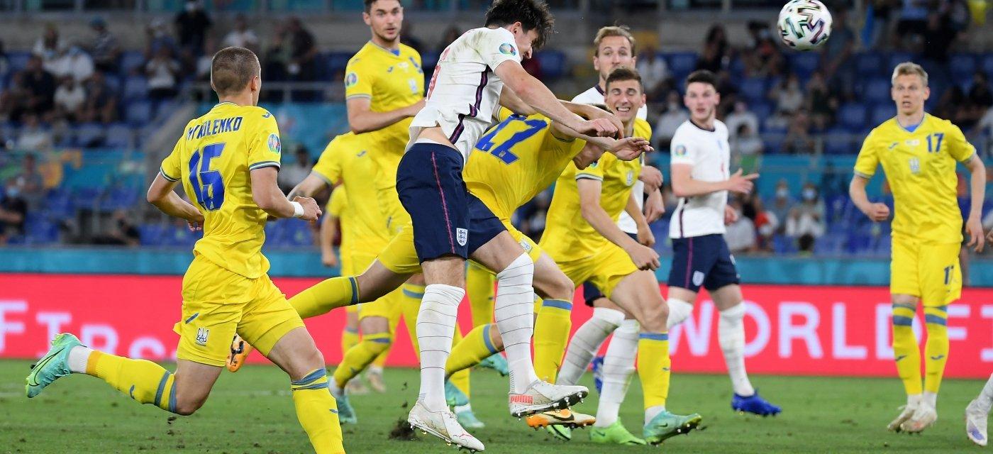 Украина - Англия, Евро-2020