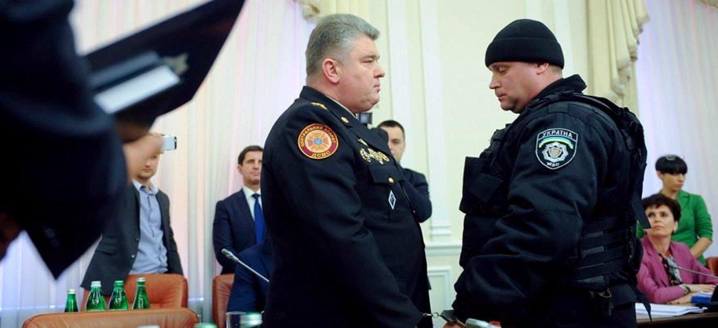 Задержание Сергея Бочковского / Фото пресс-службы правительства