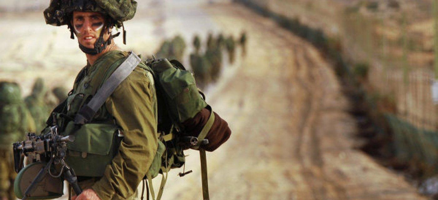 Израильские резервисты входят в сектор Газа / Фото: RIA News