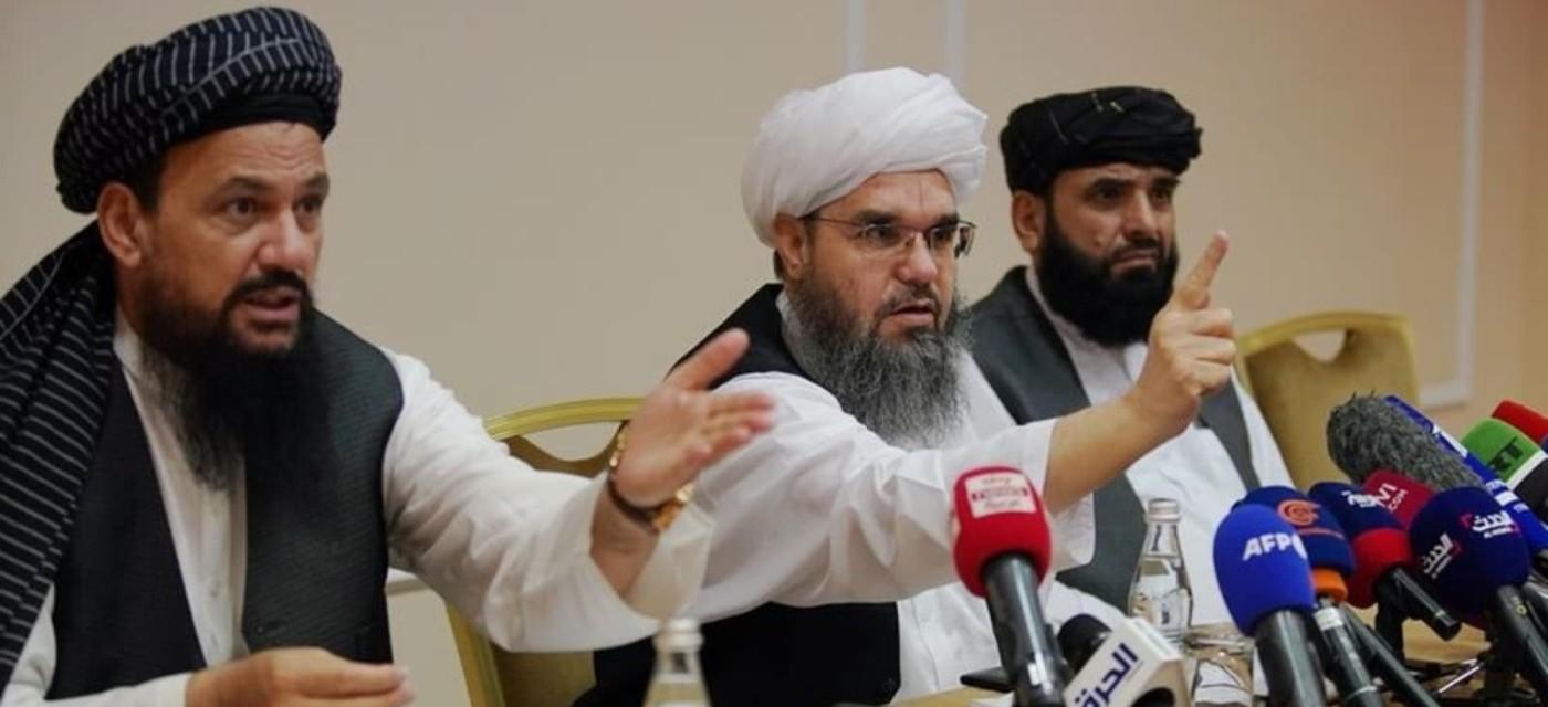 Талибы на пресс-конференции