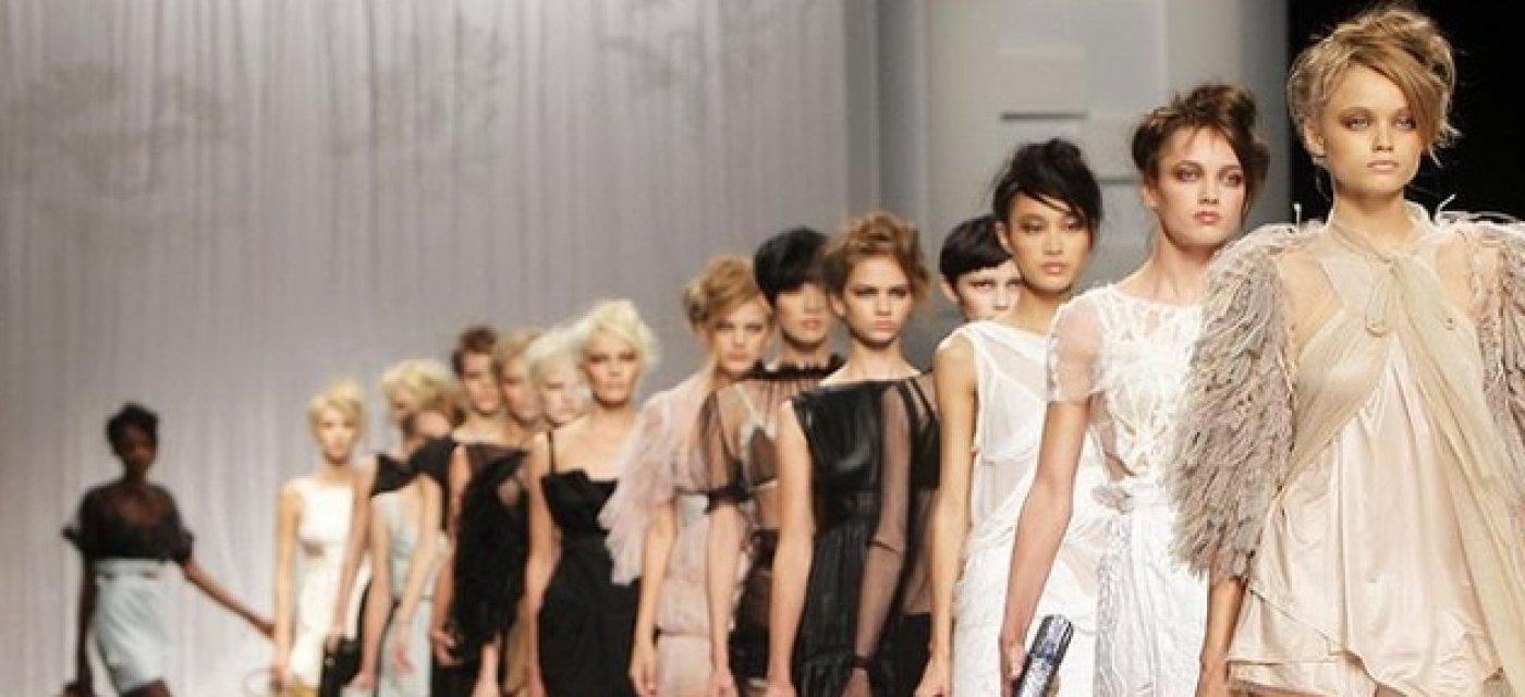 модели, дефиле, показ мод
