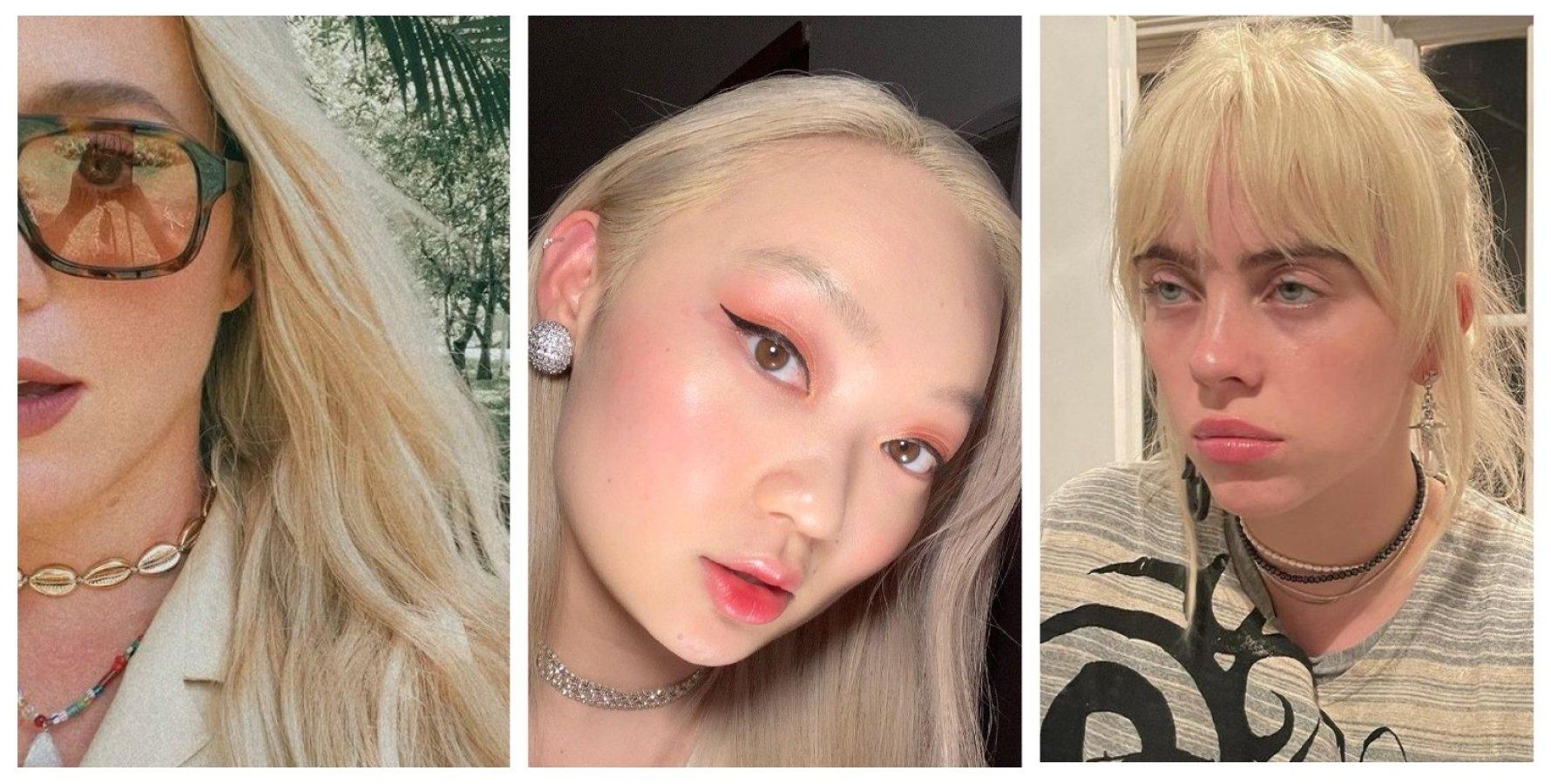 цвет волос, блон, солнечный блон