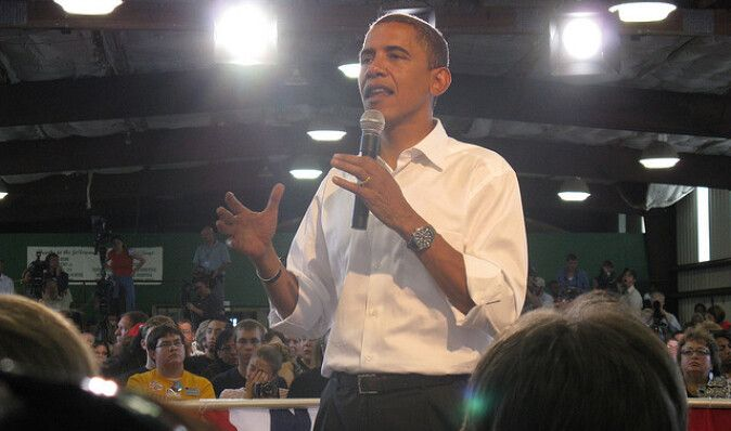 Обама опережает соперников-республиканцев по сбору средств на предвыборную кампанию