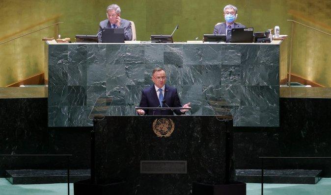 """""""Украина окажется в еще большей опасности"""", — Дуда пристыдил ЕС из-за """"Северного потока-2"""""""