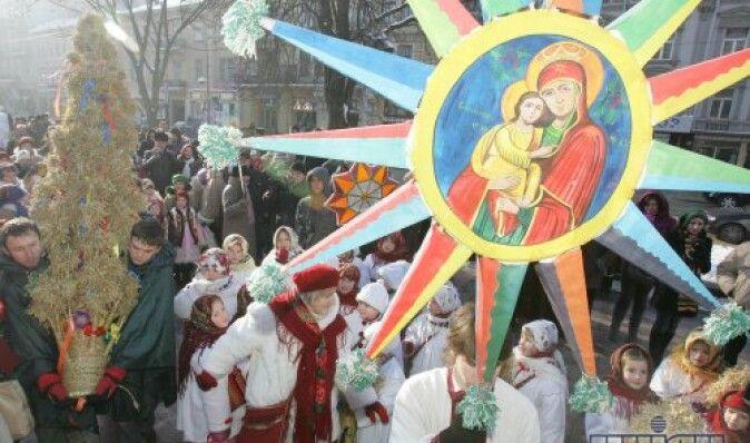 Христос родился! Полная программа празднования Рождества в крупнейших городах Украины