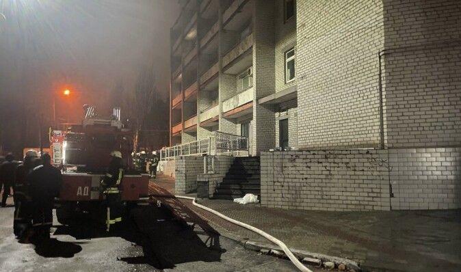 По делу о пожаре в Запорожье есть первый задержанный, — Офис генпрокурора