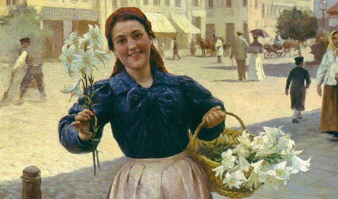 Квіти на капелюшках. Яким подарункам раділи киянки в минулі часи