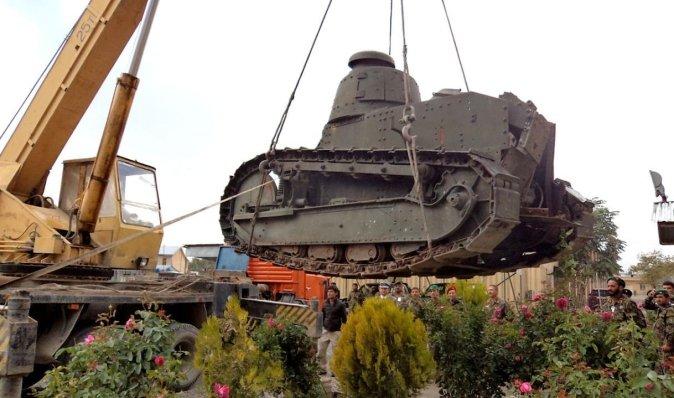 Забута зброя. Як найуспішніший танк Першої світової війни потрапив до Афганістану