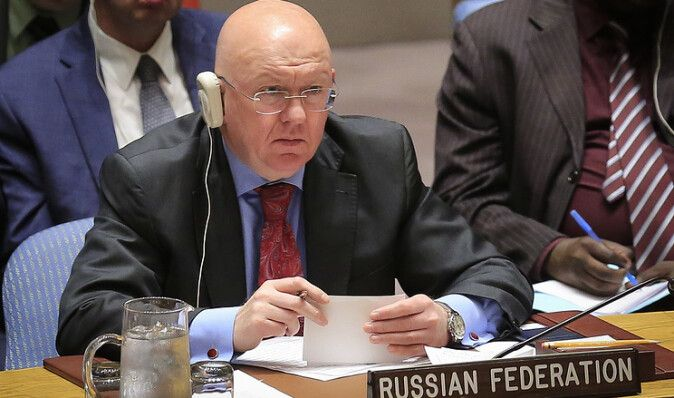 Россия в ООН назвала химатаку в Думе постановкой