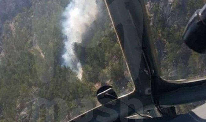 В Турции во время тушения пожара разбился российский самолет-амфибия (видео)
