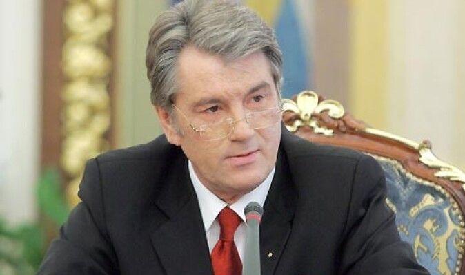 Ющенко не соизволил поздравить украинцев с годовщиной Оранжевой революции