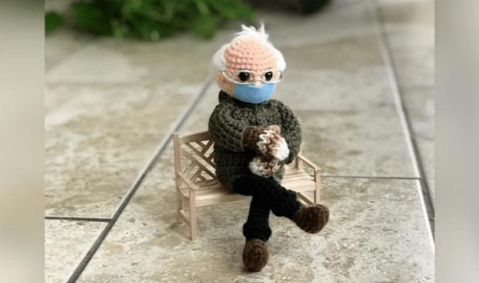 Іграшку Берні Сандерса, який сидить в рукавицях, на інавгурації Байдена продали за $ 40 тисяч
