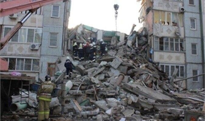 Среди погибших в Астрахани опознали предполагаемого виновника взрыва дома