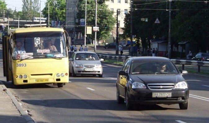 В киевских маршрутках разыгрывают призы