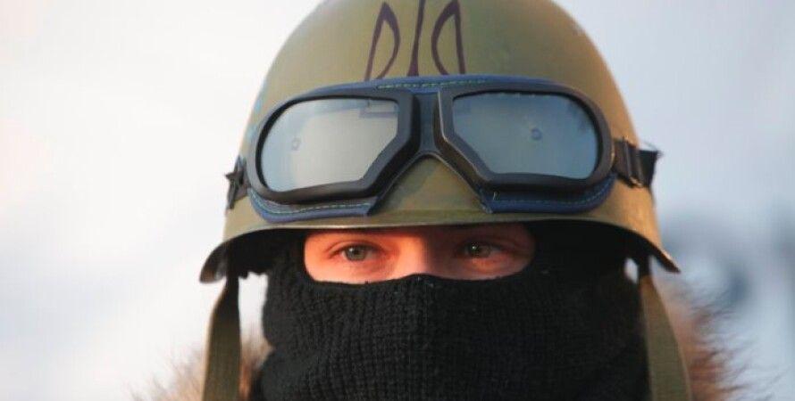 Активист Евромайдана / Фото: Александр Чекменёв/Фокус