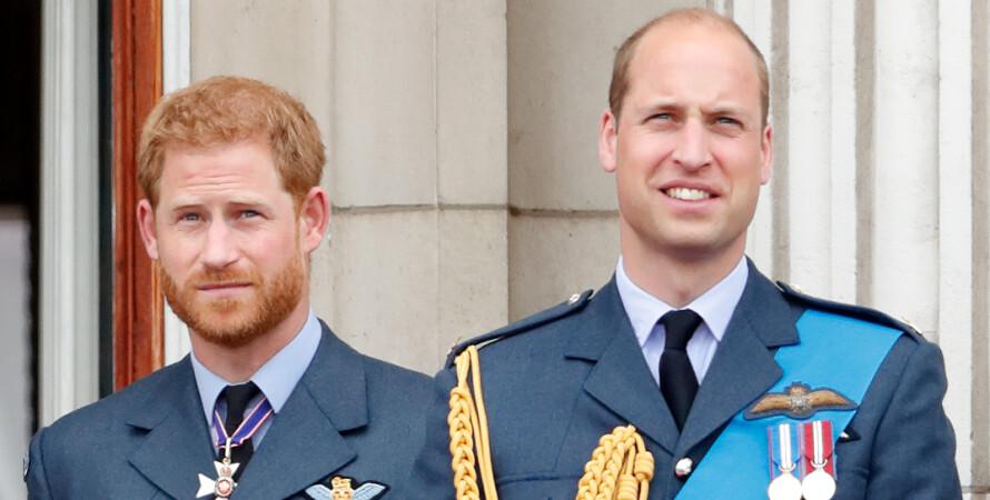 принц Уильям, принц Гарри, братья, фото, ссора