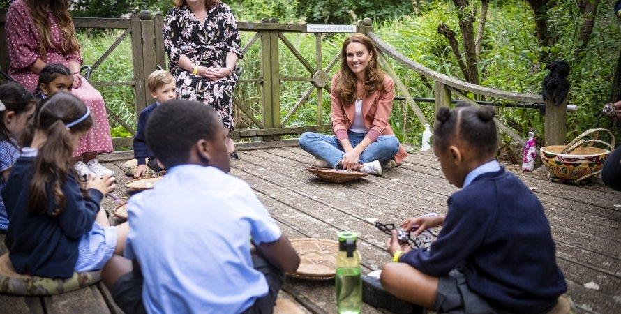Кейт Миддлтон, дети, встреча