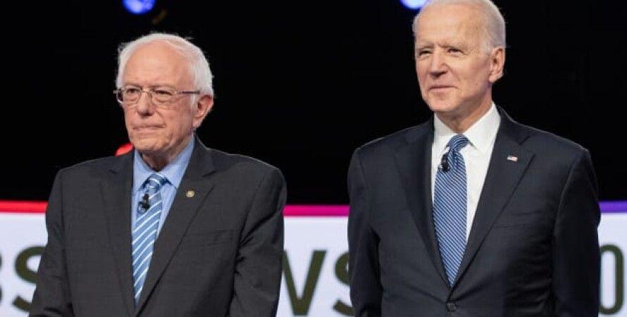 Джо Байден и Берни Сандерс/Фото: Bloomberg